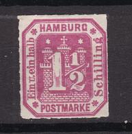 Hamburg - 1866 - Michel Nr. 21 - Ungebr. - Hambourg