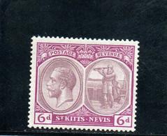 ST.-CHRISTOPHE 1920 * - San Cristóbal Y Nieves - Anguilla (...-1980)