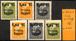 NB - [825554]TB//MIX/MIX-Allemagne  - N° 174/76, **/mnh, */mh, Célébrité - Bavaria