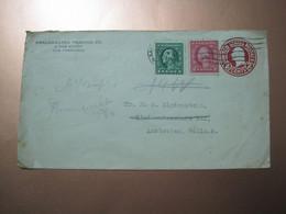 USA San Francisco To Amsterdam Netherlands 1919 Cover - Briefe U. Dokumente