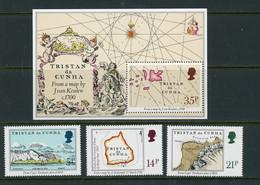 "-Tristan Da Cunha-1981-""Maps Of Islands"" MNH (**) - Tristan Da Cunha"