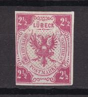 Luebeck - 1859 - Michel Nr. 4 - Ungebr. - 60 Euro - Lubeck