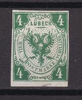 Luebeck - 1859 - Michel Nr. 5 UR - Ungebr. - 60 Euro - Lubeck