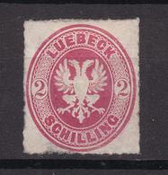 Luebeck - 1863/67 - Michel Nr. 10 A - Ungebr. - 35 Euro - Lubeck
