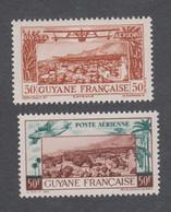 Colonies Françaises - Timbres Neufs** - Guyane - PA N°20 Et 21 - Neufs