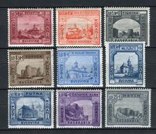Rumanía 1941. Yvert 661-69 ** MNH. - Ungebraucht