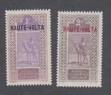 Colonies Françaises - Timbres Neufs** - Haute Volta - N°1 Et 2 - Neufs
