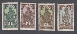 Colonies Françaises - Timbres Neufs** - Haute Volta - N°43,44,49 Et 53 - Neufs