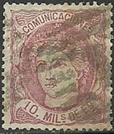 ESPAÑA 1870-Mi:ES 99, Edi:ES 105 - Usados