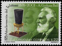 Uruguay 2001 Telephone Anniversary Unmounted Mint. - Uruguay