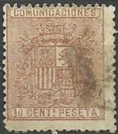 ESPAÑA 1874.-EDIFIL 153 . - Oblitérés