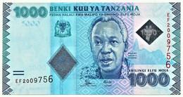 Tanzania - 1000 Shilingi - ND ( 2015 ) - Pick: 41.b - Unc. - Serie EF - Tanzanie