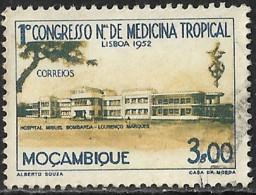 Mocambique – 1952 Tropical Medicine Congress Used Stamp - Mozambique