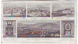 TRES RARE PRECURSEUR DES CARTES POSTALES , Vues D' EINSIEDELN Suisse En 1882 !!! Voyagee - 1877-1920: Periodo Semi Moderno