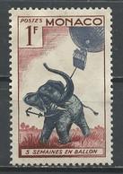 Monaco 1955 Y&T N°427 - Michel N°512 *** - 1f 6 Semaines En Ballon - Unused Stamps