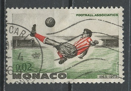 Monaco 1963 Y&T N°621 - Michel N°745 (o) - 2c Shoot Retourné - Used Stamps