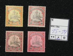 Nr.15-19 Deutsch-Südwestafrika Mit Pfalzrest Ohne Nr.16 - Colonia: Africa Sud Occidentale