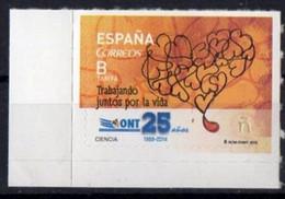 Spain  2015.  Medicine. 25 Jaar Transplantation Organisatie.  MNH - 2011-... Ongebruikt