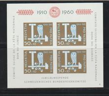 Suisse - BF 17 Neuf** (cote Yt 35 Euros) - Blocks & Sheetlets & Panes