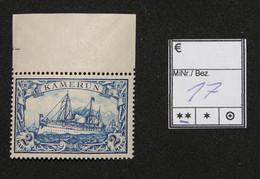Nr.17 Kamerun Randstück Postfrisch - Colonia: Camerun