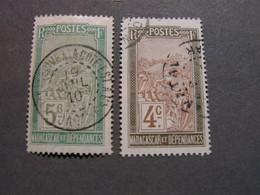 Madagaskar 2 Old Stamps  1910 - Oblitérés