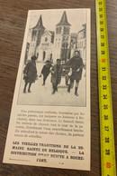 Années 20 PATI Vieille Tradition Distribution D'eau Benite à Rochefort Ardennes - Collezioni