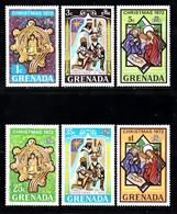 GRENADA   SCOTT NO  475-80   MNH     YEAR  1972 - Grenada (...-1974)