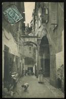 Ventimiglia Vecchia Via 1913 Troglio Coin Supérieur Droit Plié Angolo Superiore Destro Piegato - Other Cities