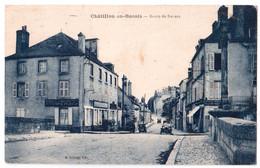 Châtillon-en-Bazois - Route De Nevers - édit. M. Diloisy  + Verso - Chatillon En Bazois