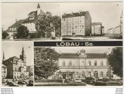 AK  Löbau Krankenhaus Südvorstadt Rathaus Bahnhof 1979  Ansichtskarte - Loebau