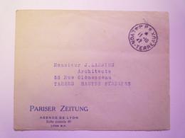2021 - 967  Enveloppe Avec CACHET  P.P.  LYON-TERREAUX  13 - 10 - 1942   XXX - Lettres & Documents