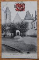 91 : Morigny - L'Eglise - Animée : Petite Animation - (n°19772) - Autres Communes