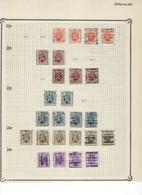 Lot HERALDIEKE LEEUW Allemaal Voorafgestempeld JODOIGNE / GELDENAKEN Met O.a. Voorafgestempeld Nr. 5888  ! LOT 105 - Roulettes 1930-..
