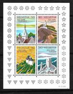 Suisse Bloc  N° 25     Neufs * *  TB = MNH VF  Voir Scans Soldé Au Prix De  La Poste En 1987 ! ! ! - Blocks & Sheetlets & Panes