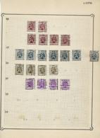Lot HERALDIEKE LEEUW Allemaal Voorafgestempeld LIER / LIERRE Met O.a. Voorafgestempeld Nr. 5893  ! LOT 105 - Roulettes 1930-..