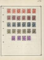 Lot HERALDIEKE LEEUW Allemaal Voorafgestempeld LUTTRE Met O.a. Voorafgestempeld Nr. 5894  ! LOT 105 - Roulettes 1930-..