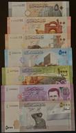 Syria 2009-2021 Full Set Of 7 Banknotes In Current Use All UNC 50L- 100L - 200L - 500L - 1000L - 2000L - 5000L - Siria