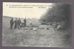 Lendemain De Bataille. Les Effets D'un Obus De 75 Aux Environs De Reims (5213) - War 1914-18