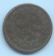 UN DECIME DUPRE  AN 7  A - 1789-1795 Franz. Revolution