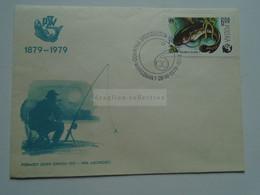 AV653.17   Poland - FDC  Fisherman  Fishing  Fish  - Pecheur - Fischer - 1979 - Briefe U. Dokumente