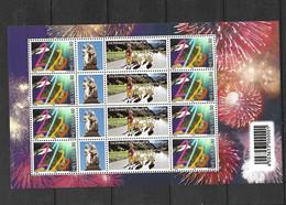 Suisse Feuillet Du N° 1634  Neufs * *  TB = MNH VF  Voir Scans Soldé Au Prix De  La Poste En 1999  ! ! - Unused Stamps