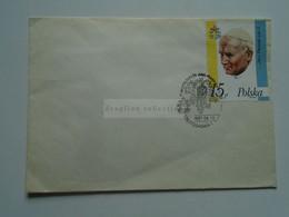 AV653.18   Poland -  Cover   John Paul  II. -  Jan Paweł   II. - 1987  Czestochwa - Briefe U. Dokumente