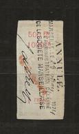 FISCAUX EFFET N°171  1F  TYPE ETOILE DE BARRE 1874 - Fiscaux