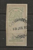 FISCAUX EFFET N°287   6F50   TYPE GROUPE ALLEGORIQUE D'OUDINE 1880 - Fiscaux