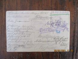 Occupation France Guerre 14.18 Flavy Le Martel  Feldpost Reserve Korps  Deutschland Franchise Postale Guerre 14.18 - 1. Weltkrieg 1914-1918