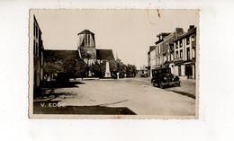 CERENCES - La Place Et L'Eglise (carte Photo Animée) - Altri Comuni