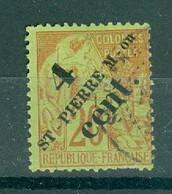 ST-PIERRE ET MIQUELON - N° 41 Oblitéré Scan Recto Verso. - Used Stamps
