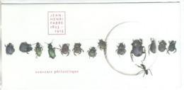 Jean-Henri Fabre 1823-1915 ,  Bloc Souvenir Neuf  BS 112 - Bloques Souvenir