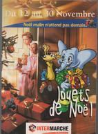 (jouets  ) Intermarché 1996 Jouets De Noël   (CAT2298) - Advertising