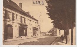 DEPT 02 : Chavignon Rue Jules-Bouteille ; ( Boucherie ) édit. ? - Andere Gemeenten